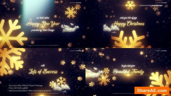 Videohive Merry Christmas Title