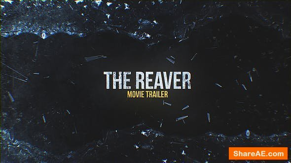 Videohive The Reaver. Movie Trailer