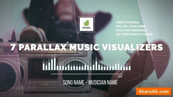 Videohive Parallax Music Visualizer