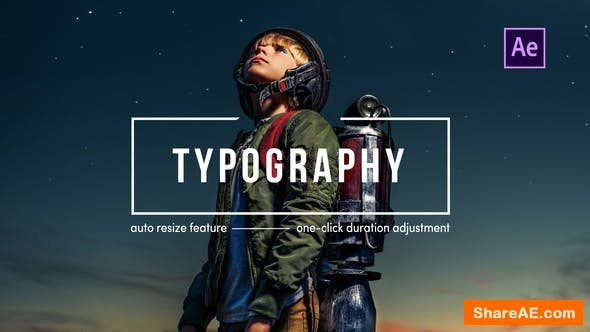 Videohive Typography | After Effects