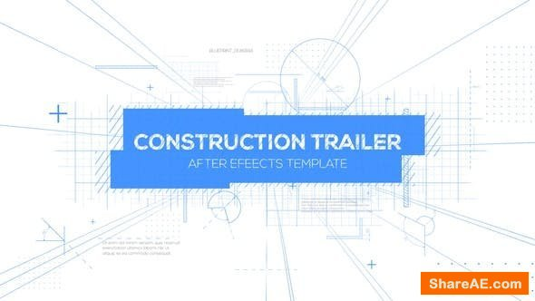 Videohive Construction Titles Trailer