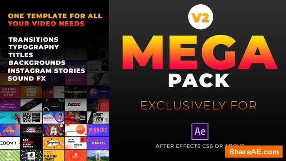 Videohive Mega Graphics Pack v2