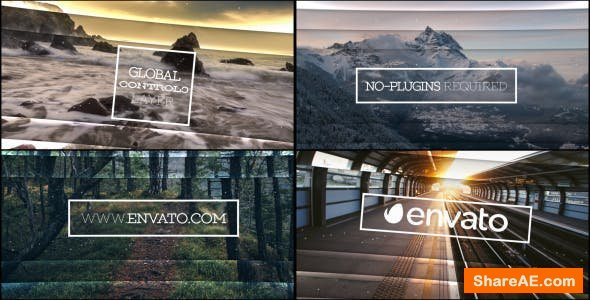 Videohive Passing Through Slides