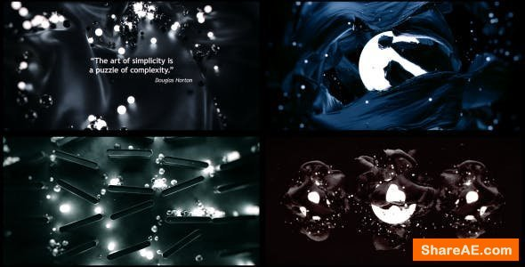 Videohive 3D Abstract Titles and Quotes