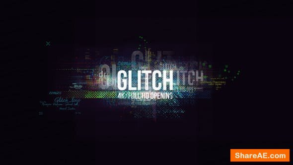 Videohive Glitch Logo/ Digital Hi-Technology Intro/ Distortion Transitions/ Hud Opener/ Youtube Blogger/ Text