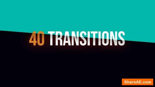 Videohive Colorful Transitions