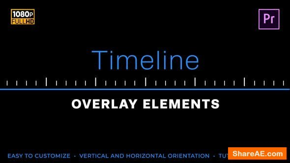 Videohive Easy Timeline Elements | MOGRT for Premiere Pro