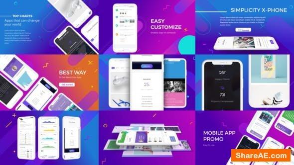 Videohive Flat Mobile Promo