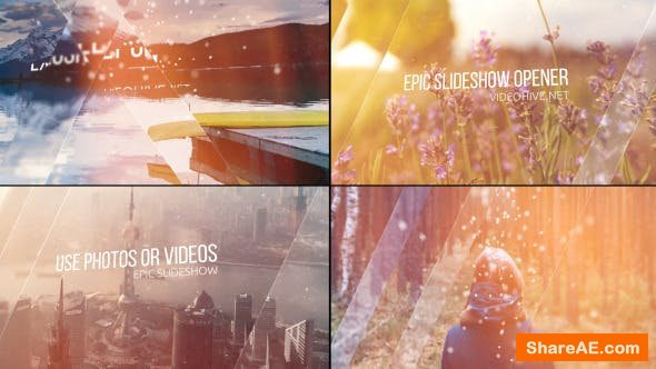 Videohive Epic Slideshow Opener