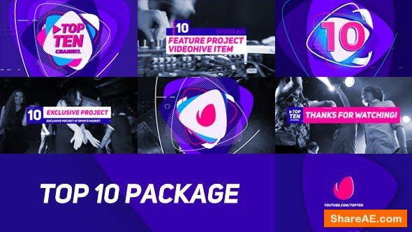 Videohive Top 10