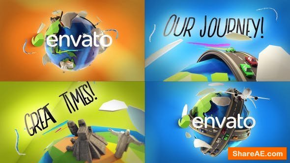 Videohive Travel Logo Reveals