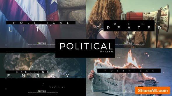 Videohive Political Opener