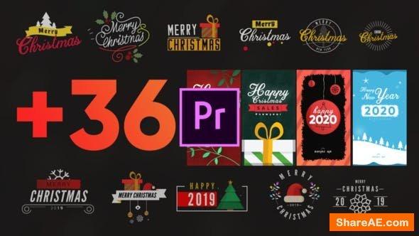 Videohive Christmas Elements Pack-MOGRT - Premiere Pro