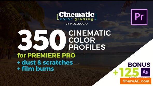 Videohive Cinematic Color Presets - Premiere Pro
