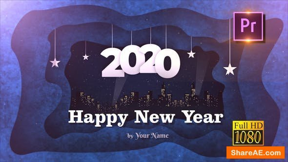 Videohive New Year Opener 2020 - Premiere PRO