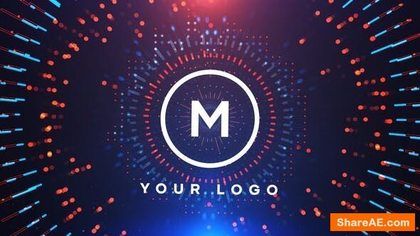 Videohive Circles Logo Reveal