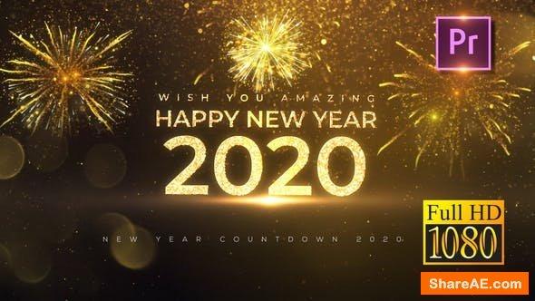 Videohive New Year Countdown 2020 - Premiere PRO 25144021
