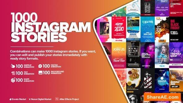 Videohive Instagram Stories Pack 25325186
