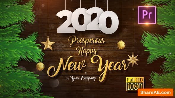 Videohive Christmas and New Year Opener 2020 Premiere Pro 25132083