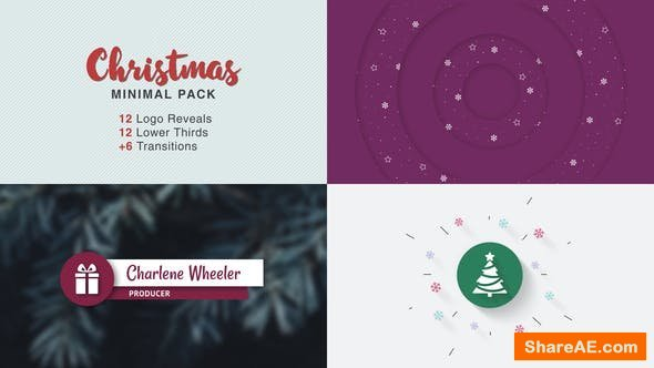 Videohive Christmas Minimal Pack