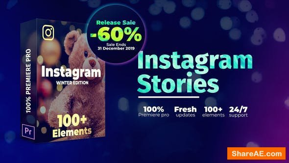 Videohive Instagram Stories | For Premiere Pro