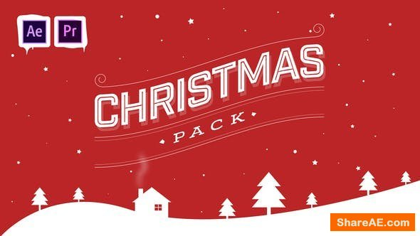 Videohive Christmas Pack | After Effects and Premiere Pro