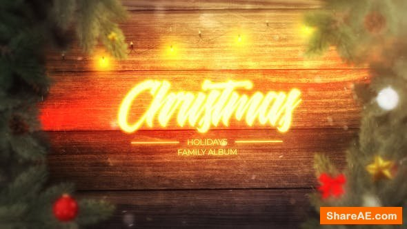 Videohive Magic Christmas Slideshow 25335525