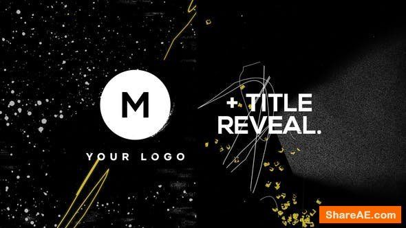 Videohive Logo & Title Reveal Scribble Grunge