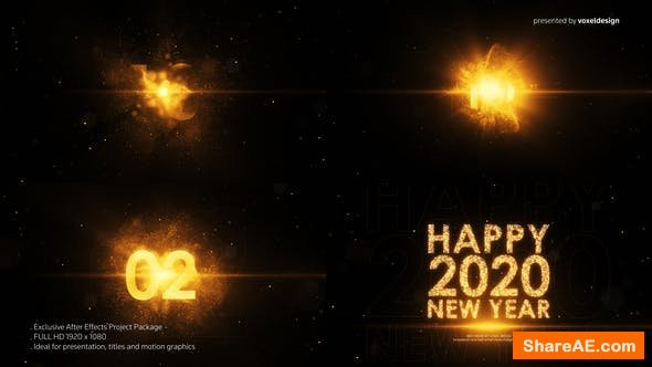 Videohive Happy New Year Countdown 25346984