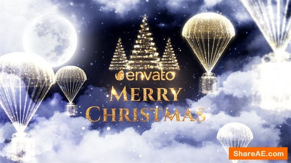 Videohive Christmas Magical Night
