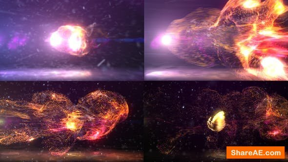 Videohive Dynamic Particles Logo Reveal