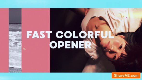 Videohive Fast Colorful Opener 20569744
