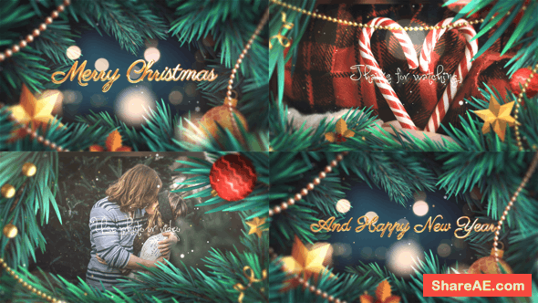 Videohive 2K20//Christmas Slideshow