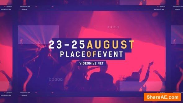 Videohive Music Event Promo Opener