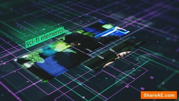 Videohive Sci-Fi Elements Slideshow