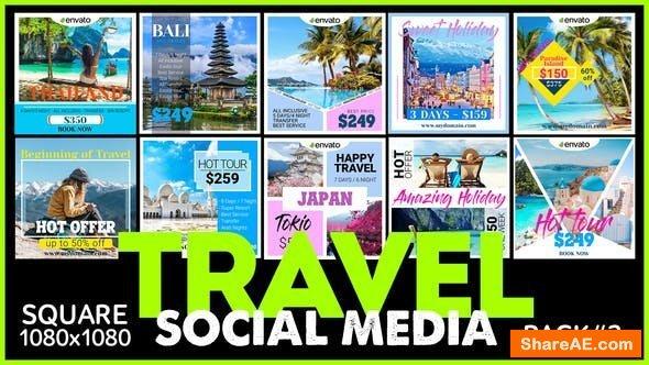 Videohive Social Media Promo - TRAVEL