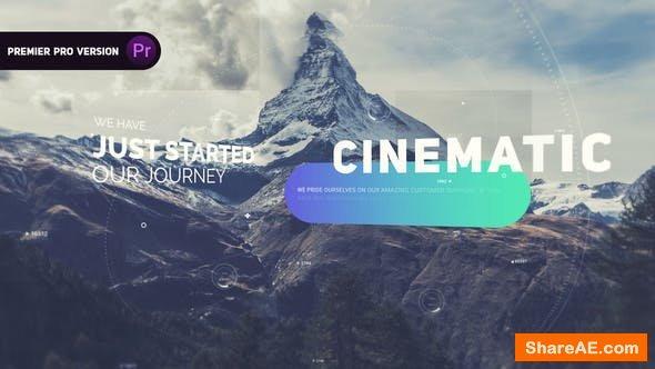 Videohive Cinematic Slideshow - Premiere Pro 24709719