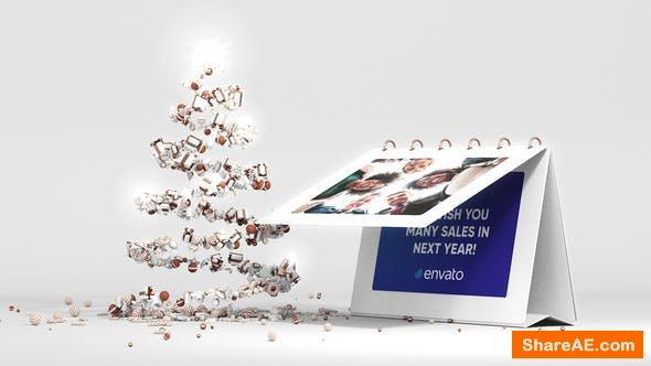 Videohive Christmas Postcard