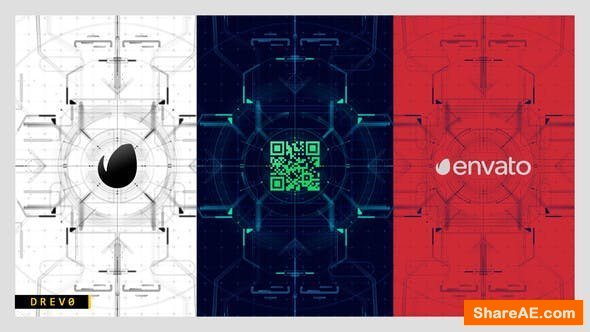 Videohive Future HUD Opening