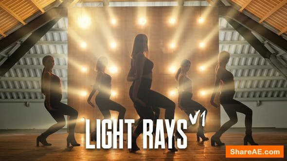 Videohive Light Rays