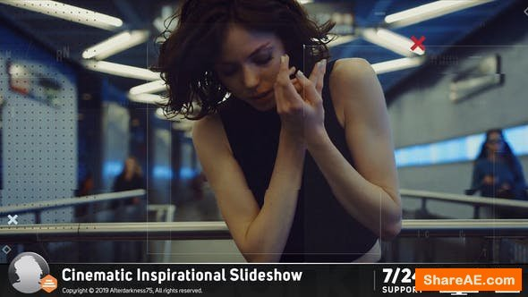 Videohive Cinematic Slideshow 20831875