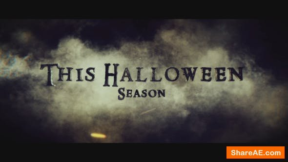 Videohive Cinematic Titles 4 Halloween Season