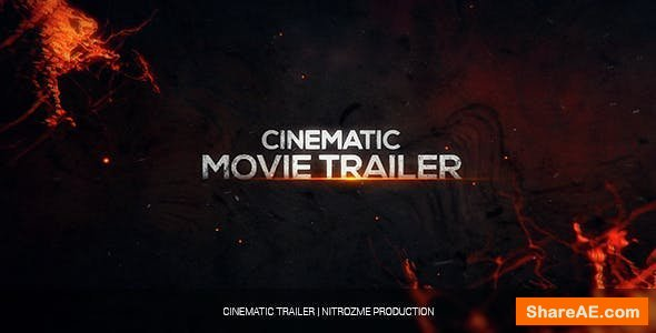 Videohive Cinematic Trailer 14949934