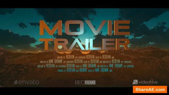 Videohive Trailer Opener Movie Cinematic