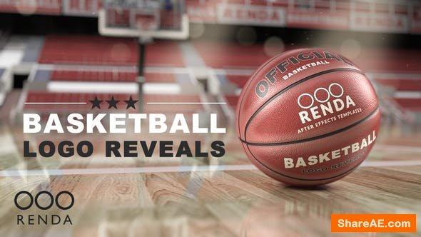 Videohive Basketball Logo Reveals - Mockup