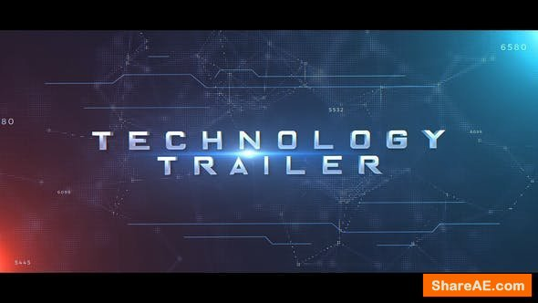 Videohive Technology Trailer 23135209