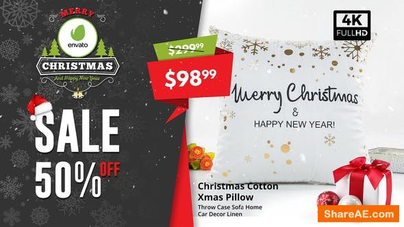 Videohive Christmas Sale / Sale Promo