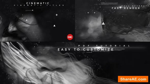 Videohive Cinematic Titles V3