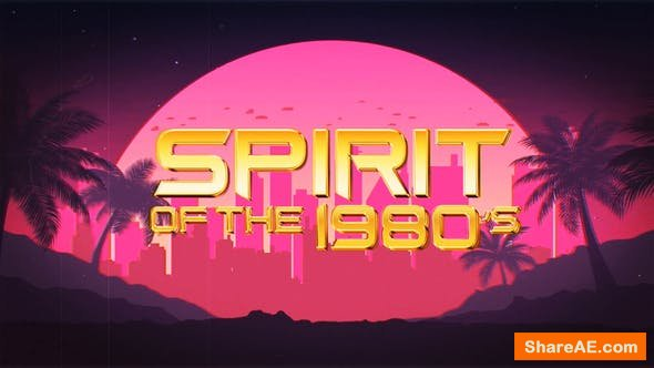 Videohive 1980s Logo Reveal Pack
