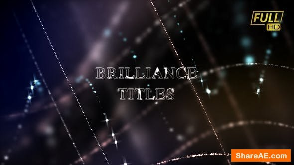 Videohive Brilliance Titles | Awards Titles